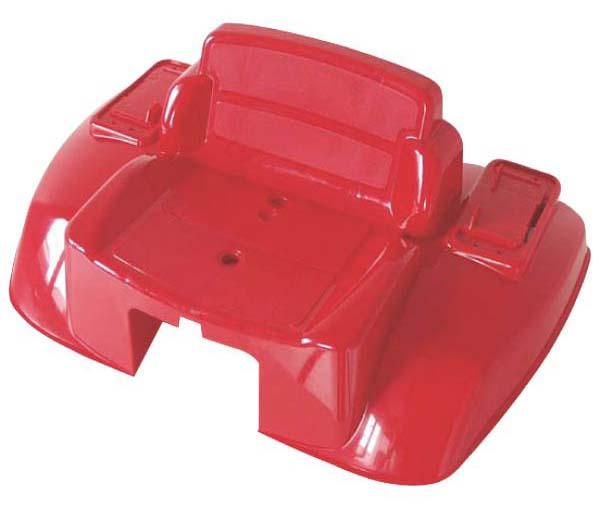 Náhradní blatník se sedadlem pro šlapací traktory Rolly Toys Junior barva červená