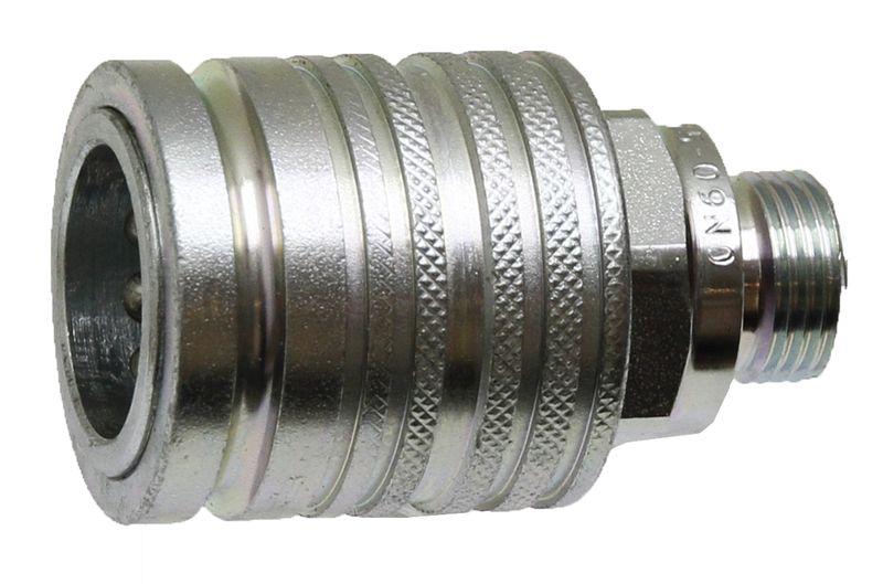 Hydraulická spojka, rychlospojka samice KM 18L 3 M26 x 1,5