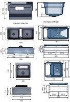 Dvojitá plováková napáječka La GÉE Polybac 72 M pro připojení k cisternám Monobloc