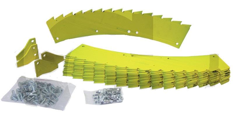 Sada opotřebitelných dílů pro kukuřičný adaptér Kemper John Deere 375