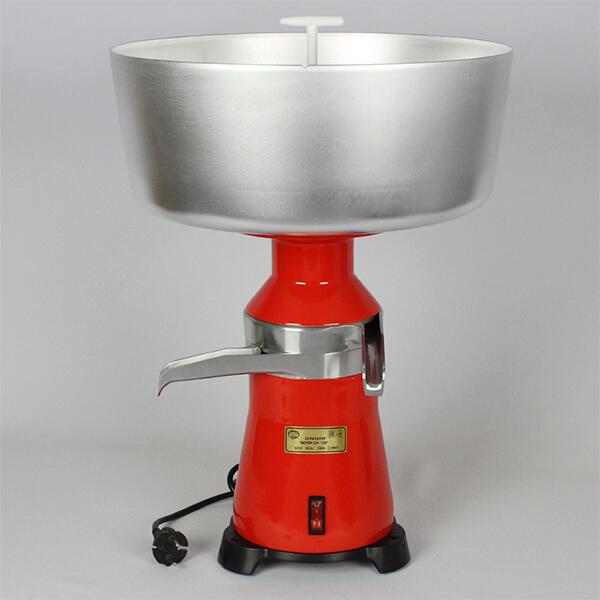 Elektrická odstředivka na mléko MS-100-18 kapacita 100 l za hodinu celokovová