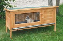 Králíkárna Alfréd - kotec pro králíky