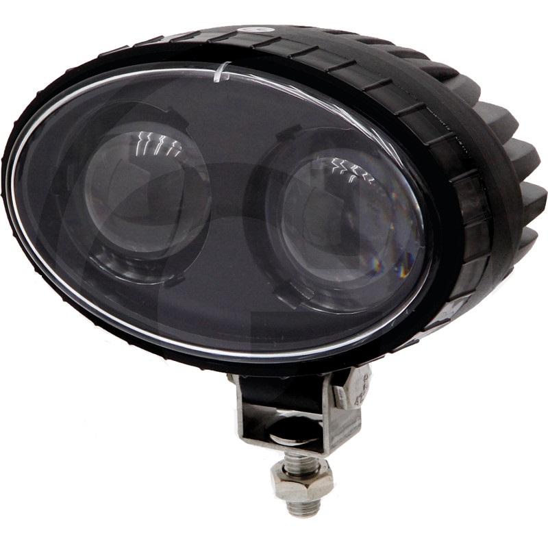LED výstražné světlo pro vysokozdvižný vozík a stroje při couvání se 2 modrými CREE-LEDs