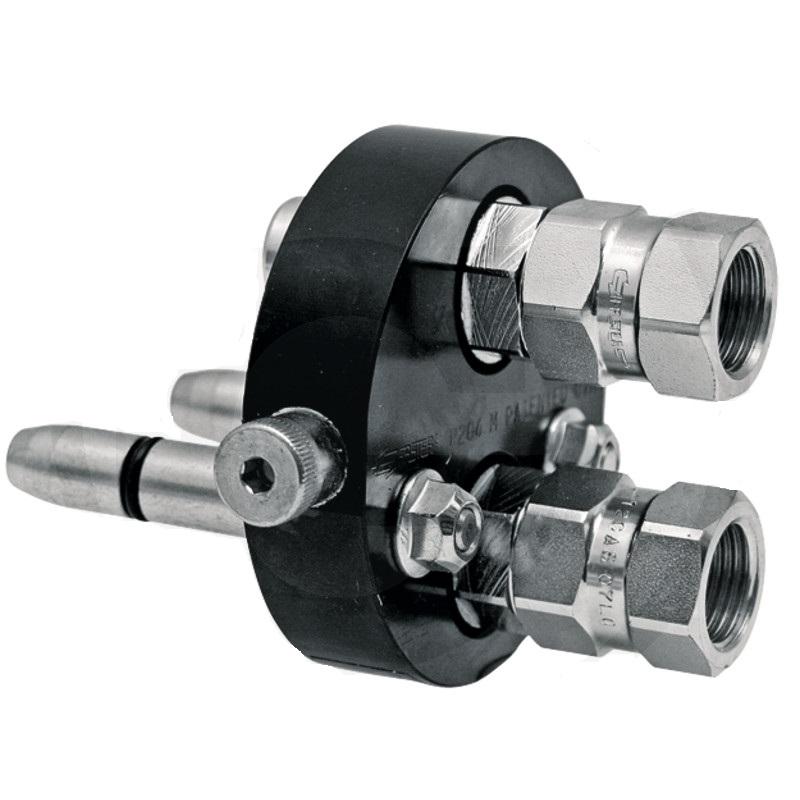 Multifaster 3P206G-2-12G MC spojovací zástrčka hydrauliky 2 rychlospojky
