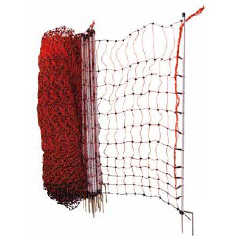 Vodivá ovčí, drůbeží síť Chapron 110 cm/50 m 2 hroty pro elektrický ohradník