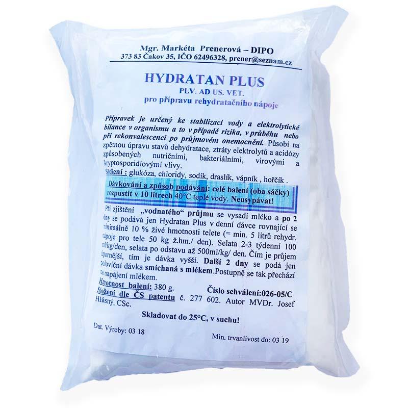 Hydratan Plus V 380 g pro přípravu rehydratačního roztoku pro telata, selata, jehňata 10 l