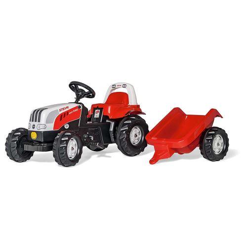 Rolly Toys - šlapací traktor Steyr 6190 CVT s přívěsem modelová řada Rolly Kid