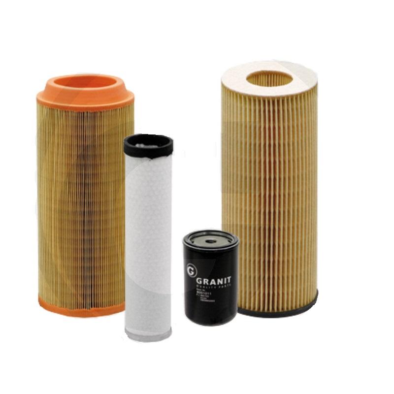 Sada filtrů pro Deutz-Fahr AgroPrima 4.31, 4.51, 4.56, 6.06, AgroXtra, 3.57, 4.07, 4.17