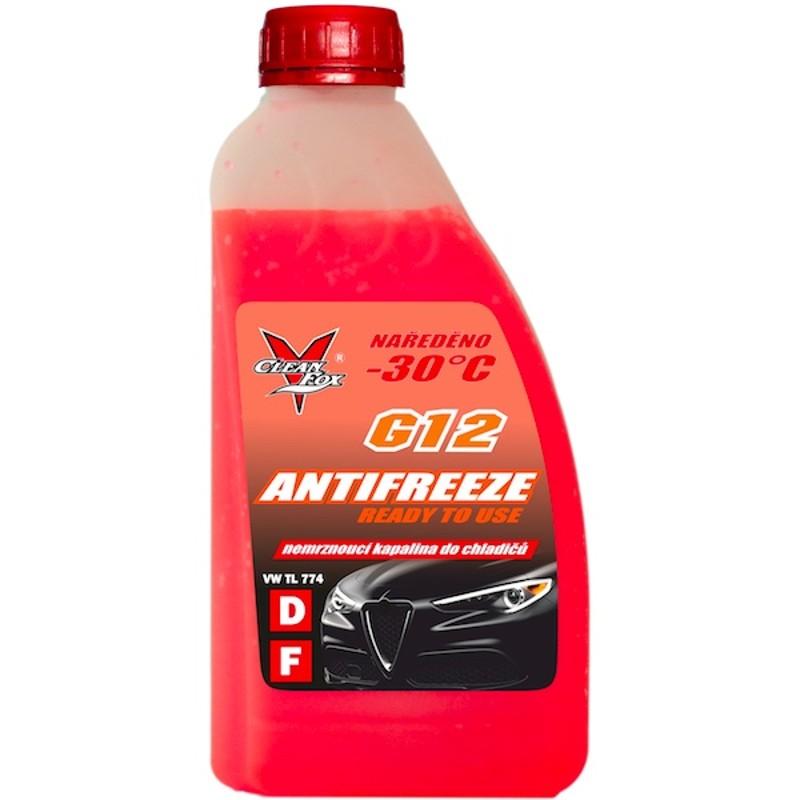 CleanFox nemrznoucí kapalina do chladičů G12, antifreeze