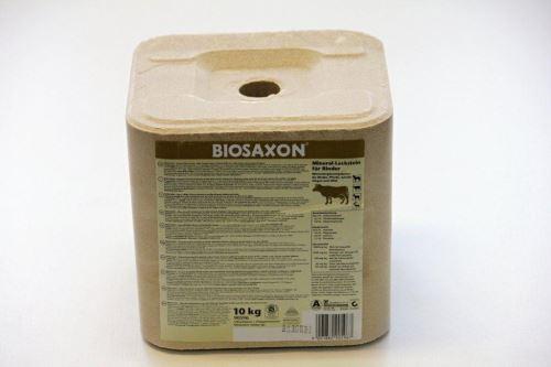 Liz minerální BIOSAXON pro skot 10kg, schváleno pro využití v ekologickém zemědělství