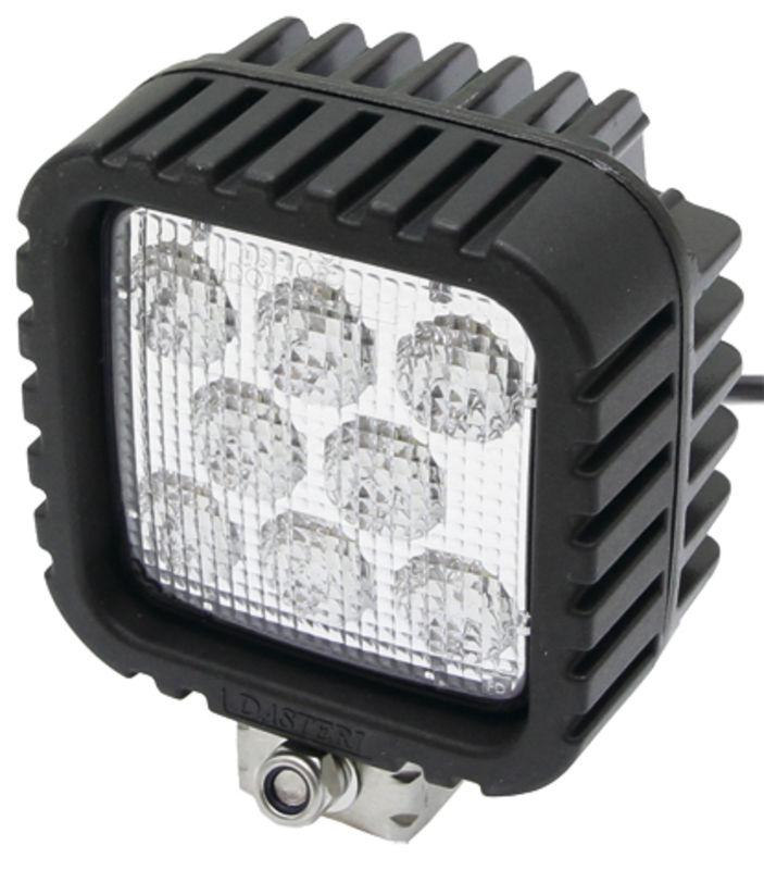 LED pracovní světlo hranaté 8 LED 12V a 24V