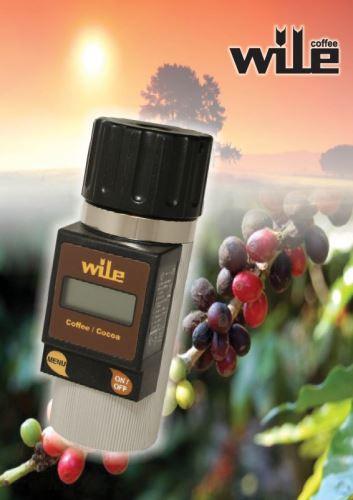 Wile Coffee vlhkoměr pro měření vlhkosti kávy a kakaových bobů (1)