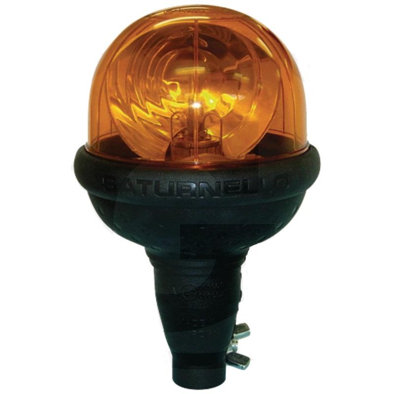 Maják CEA Saturnello H1 oranžový výstražný 12V 55W na nástrčnou trubku