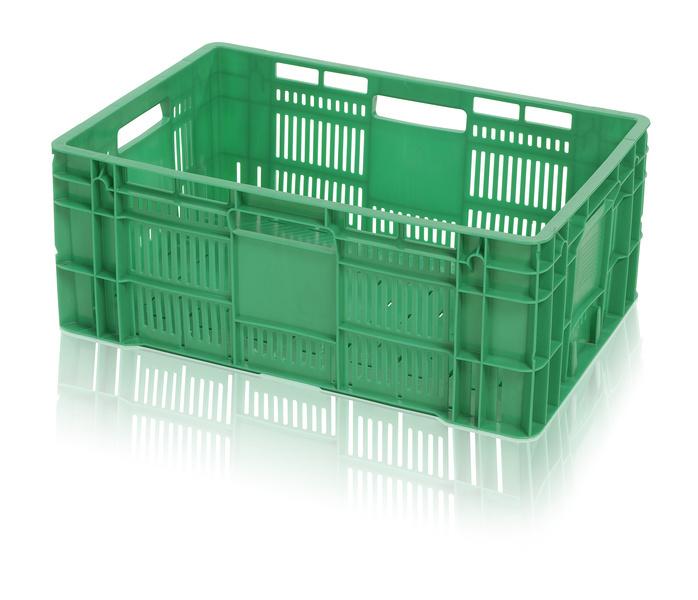 Plastová přepravka na ovoce a zeleninu vysoká nosnost 20 kg