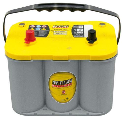 Startovací baterie Optima Yellow Top 55 Ah