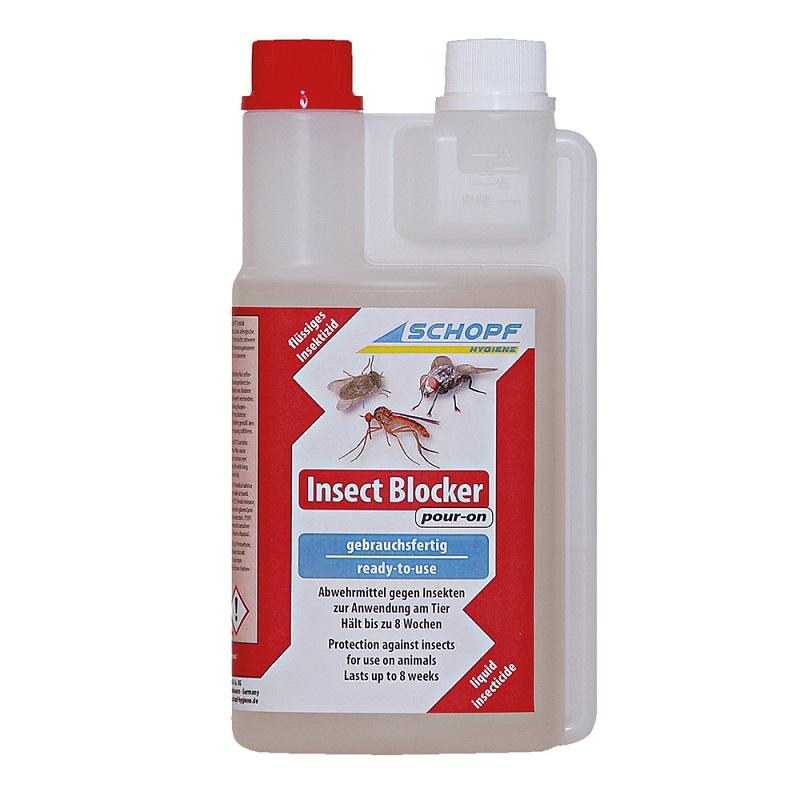Insect Blocker pour-on repelent a odpuzovač much, bodalek, pakomárce 500 ml pro ovce