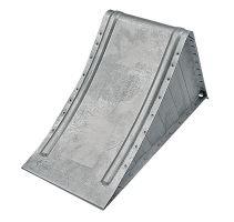 Zakládací klín pod kola ocelový zinkovaný k zajištění přívěsu délka 320 mm