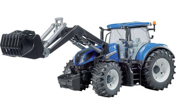Bruder - traktor New Holland T7.315 s čelním nakladačem