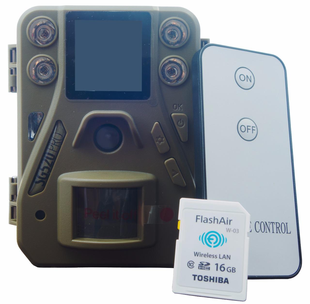 Fotopast ScoutGuard SG520 PRO+ 8GB SD karta