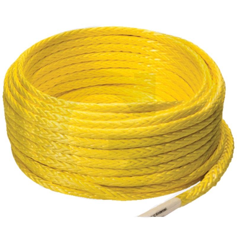 Syntetické lano průměr 5 mm NOVOLEEN Pur PU 12 k lesnímu navijáku metráž