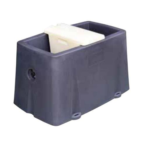 Vyhřívaný plastový napájecí žlab na vodu pro skot La Gée Polyclean 50 l 2x80W / 24V