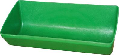 Plastový krmný žlab OK PLAST pro telata, ovce a kozy 77 cm 26 l, koryto pro prasata