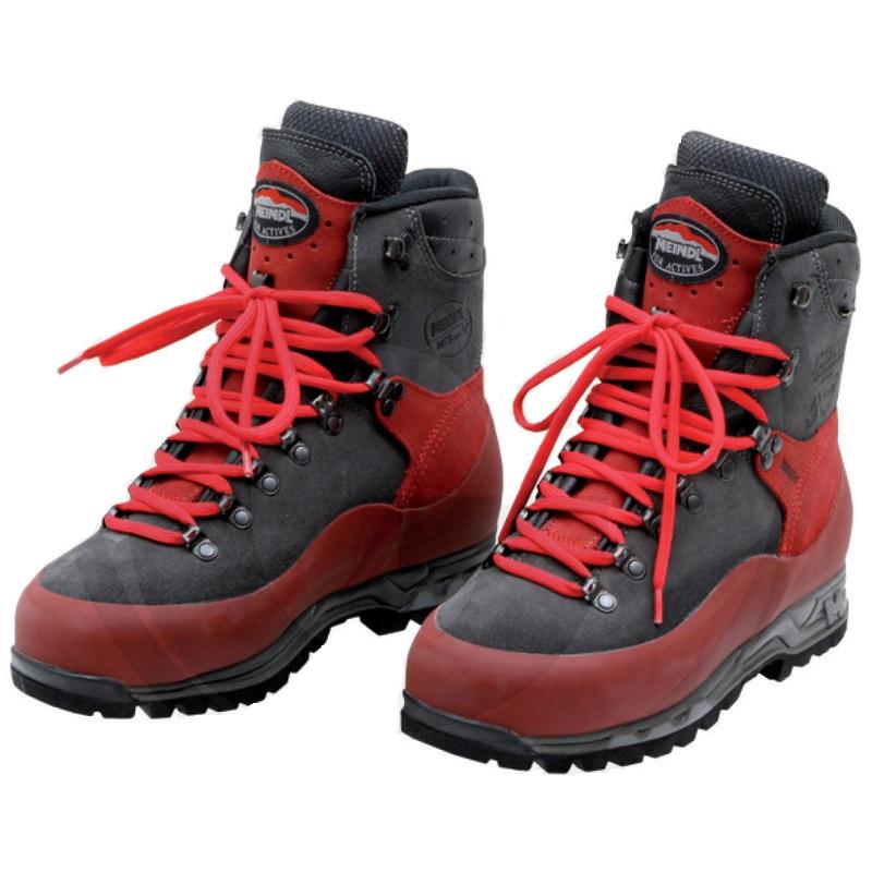 Dřevorubecká kožená obuv MEINDL AIRSTREAM s ochranou proti proříznutí