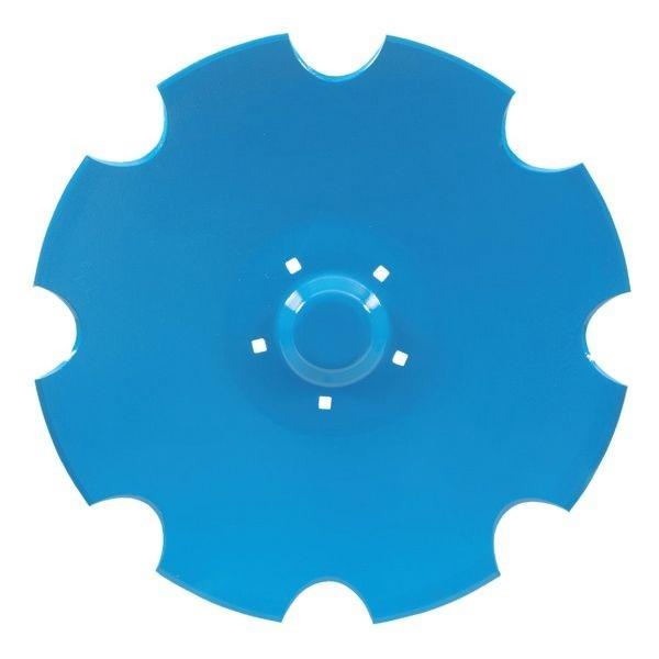 Ozubený disk diskové brány pro Lemken Rubin průměr 620 mm, tloušťka 6 mm, průměr 12,3 mm
