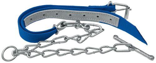 Obojek pro telata 850 x 40 mm s řetězem délka 1200 mm