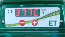 Poloautomatická digitální líheň kuřat, drůbeže EGG TECH ET 24 s dolíhní bez motoru