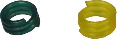 Spirálový kroužek na holuby a křepelky 8 mm