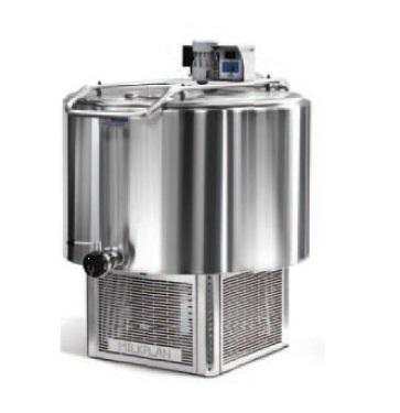 Chladící tank na mléko Milkplan MPV 300 l na chlazení mléka, 2 nádoje, 3 fázové