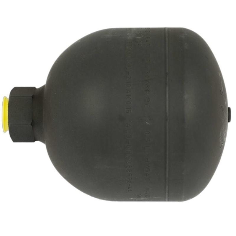 Akumulátor tlaku 0,5 l 15 BAR R1/2″ LCS originál Quicke vhodné i pro SoftDrive, Dimension