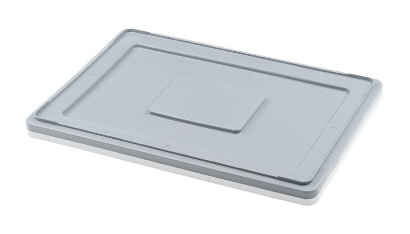 Víko vhodné pro plastové přepravky na maso a potraviny 60 x 40 cm