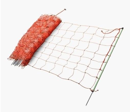 Vodivá králičí síť ExtraNet 65 cm/50 m 1 hrot pro elektrický ohradník