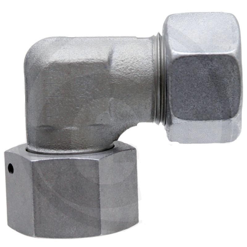 Hydraulické šroubení úhlové 90° nastavitelné STAUFF EWV s přesuvnou maticí DKO
