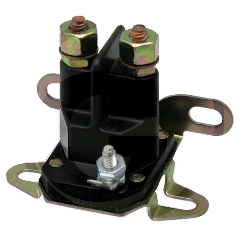 Magnetický spínač zahradní sekačky Agrostroj AGS univerzální 12V, přípoj 2 x 1/4″-20UNF
