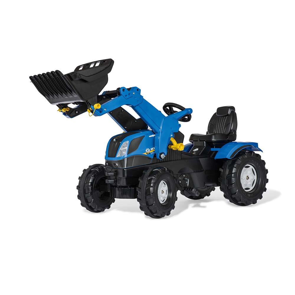 Rolly Toys - šlapací traktor New Holland T7 s čelním nakladačem řada rollyFarmtrac