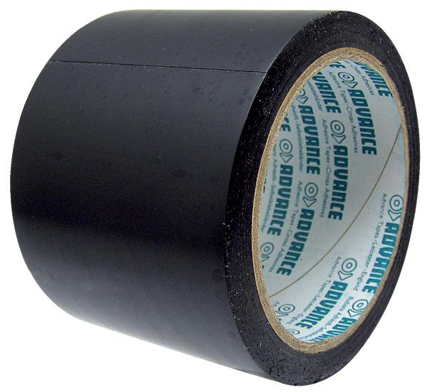 Lepící opravná páska na senážní, silážní fólie a plachty černá šířka 75 mm