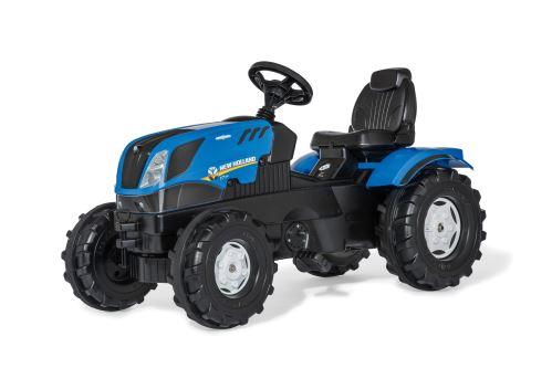 Rolly Toys - šlapací traktor New Holland T7 s vozíkem modelová řada rollyFarmtrac