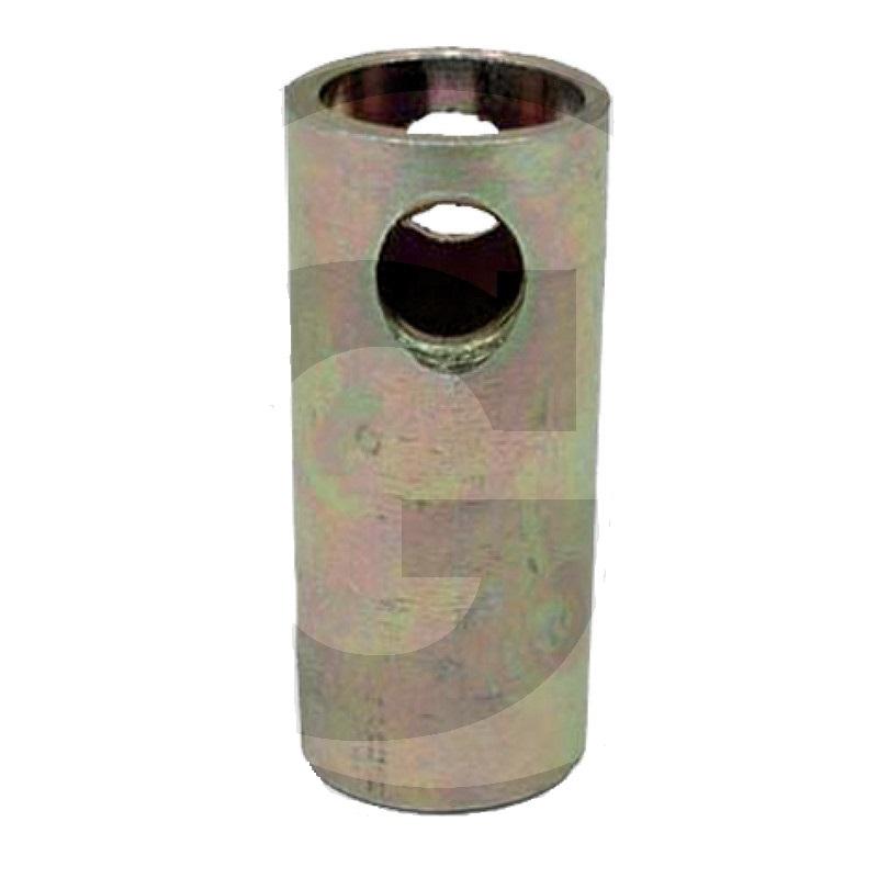 Redukční pouzdro spodního závěsu třetího bodu kat. 1-2 délka 63 mm s otvorem