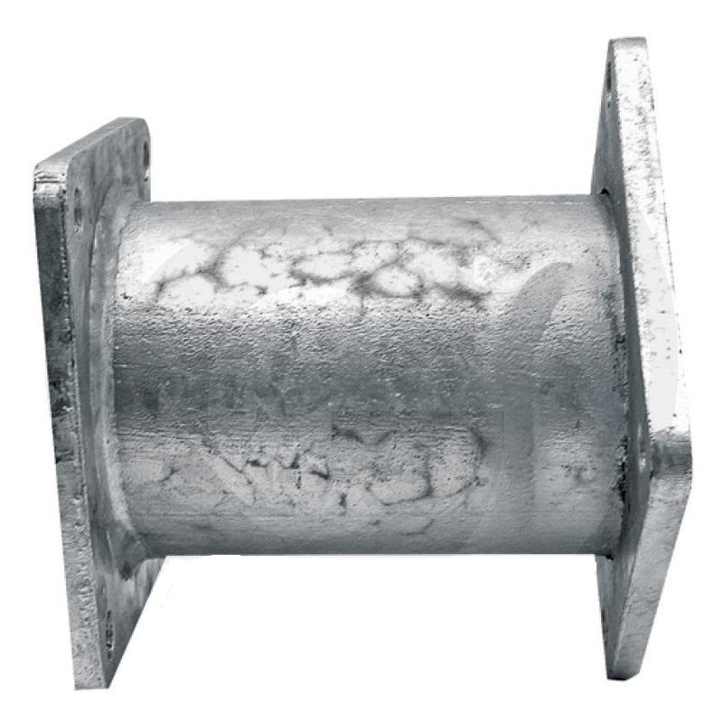 Eisele trubka rozstřikovače kejdy na fekál odstup děr 120 x 120 mm