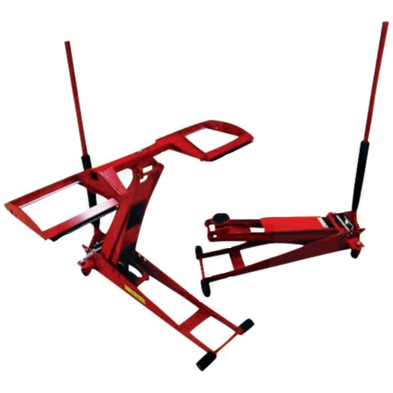 Hydraulický zvedák Clip Lift Pro na zahradní traktory a ridery nosnost 800 kg