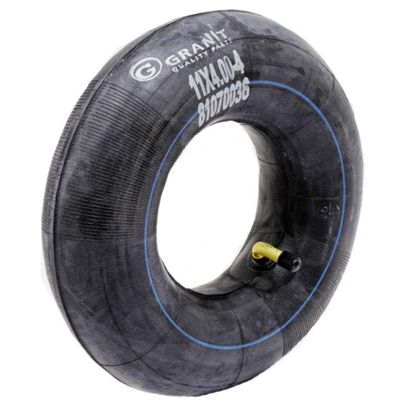 Duše 3.50-4 pro 4″ pneumatiky ventil TR 87 zahnutý