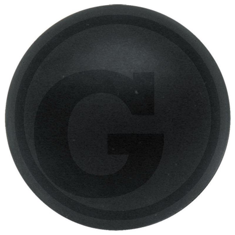 Plováková koule průměr 80 mm do sifonů gumová s dřevěným jádrem