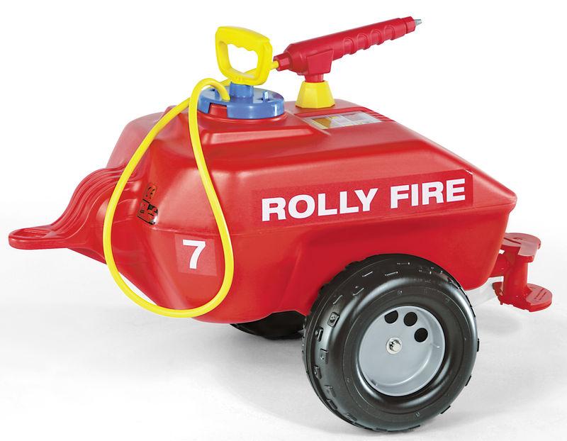 Rolly Toys – Požární cisterna Fire s pumpou a stříkačkou