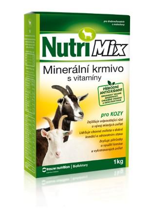 Nutrimix pro kozy – doplňkové minerálně vitamínové krmivo