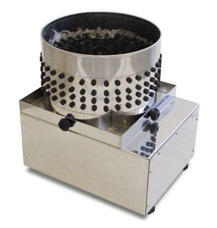 Elektrická profi škubačka na křepelky, holuby Spiumatrice DIT35 bubnová s 227 prsty