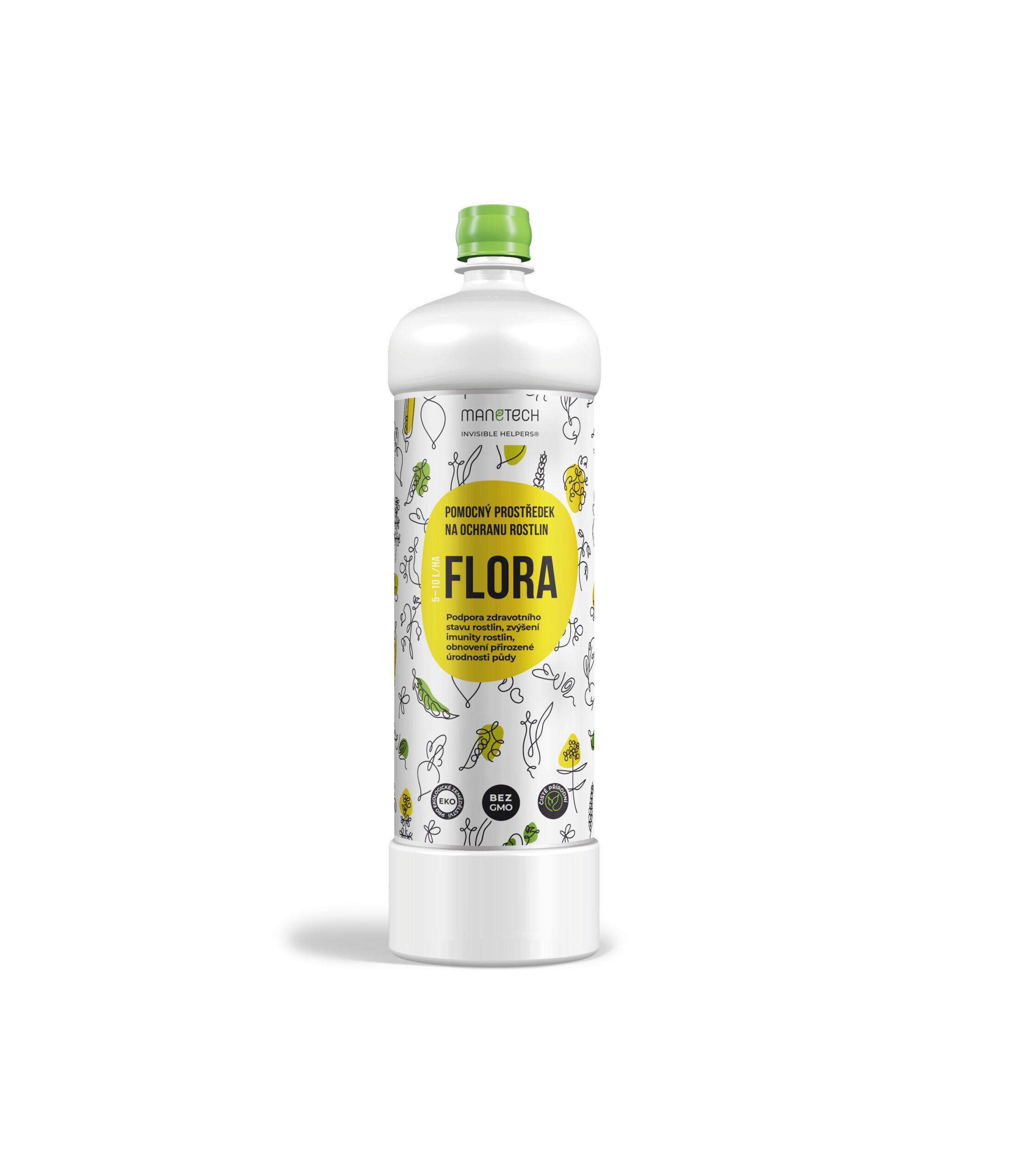 Mikrobiální přípravek LAIVEN Flora urychlovač růstu a vitality rostlin 1 l