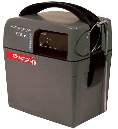 Chapron Master H30/230 kombinovaný zdroj napětí pro elektrický ohradník 12V/230V, 2,3J